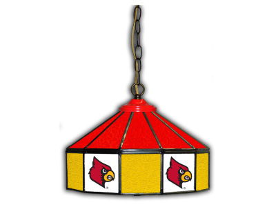 "Louisville Cardinals Imperial 14"" Glass Pub Lamp"