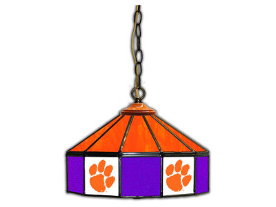 "Clemson Tigers Imperial 14"" Glass Pub Lamp"