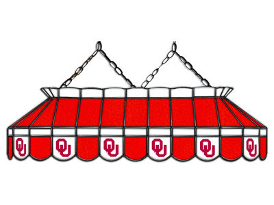 "Oklahoma Sooners Imperial 40"" Glass Lamp"