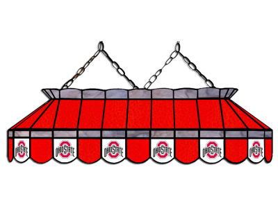 "Ohio State Buckeyes Imperial 40"" Glass Lamp"