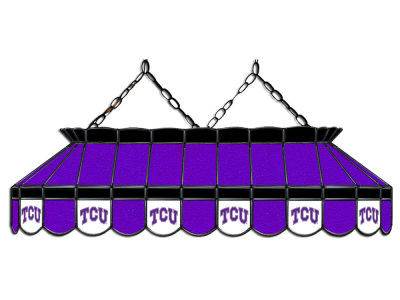 "Texas Christian Horned Frogs Imperial 40"" Glass Lamp"