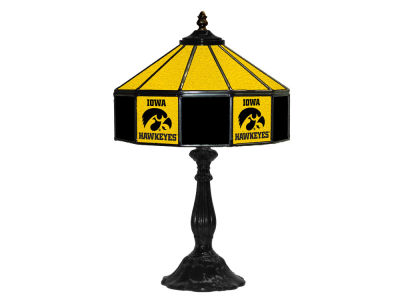 "Iowa Hawkeyes Imperial 21"" Glass Table Lamp"
