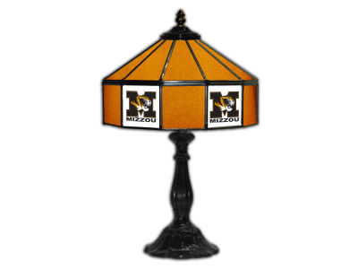 "Missouri Tigers Imperial 21"" Glass Table Lamp"