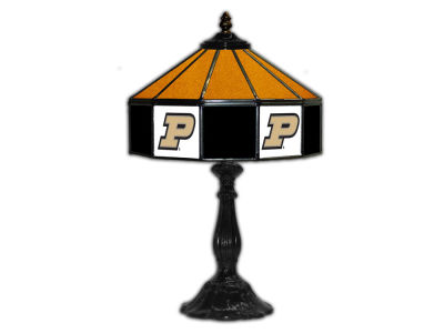 "Purdue Boilermakers Imperial 21"" Glass Table Lamp"