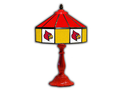 "Louisville Cardinals Imperial 21"" Glass Table Lamp"