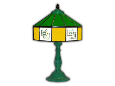 "Baylor Bears Imperial 21"" Glass Table Lamp"