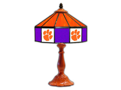 "Clemson Tigers Imperial 21"" Glass Table Lamp"
