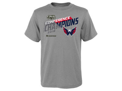 Washington Capitals NHL Branded 2018 NHL Youth Conference Champ T-Shirt