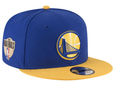 Golden State Warriors New Era 2018 NBA Finals Bound Side Patch 9FIFTY Snapback Cap