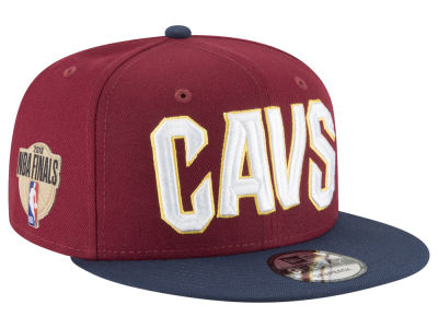 Cleveland Cavaliers New Era 2018 NBA Finals Bound Side Patch 9FIFTY Snapback Cap