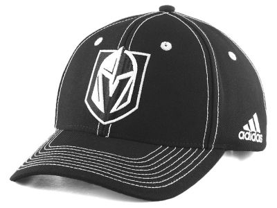 Vegas Golden Knights adidas NHL Bar Down Adjustable Cap