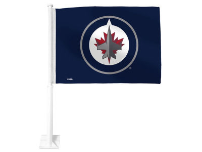 Winnipeg Jets Car Flag - 1 Sided