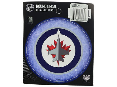 Winnipeg Jets Round Decal - Vinyl