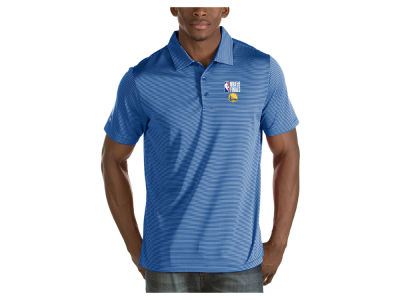 Golden State Warriors Antigua 2018 NBA Men's Finals Quest Polo