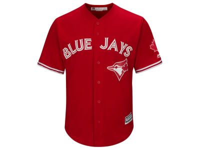 Toronto Blue Jays Majestic MLB Youth Cool Base Replica Jersey w/Patch