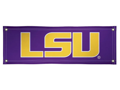 LSU Tigers Victory Corps 2x6 Vinyl Banner