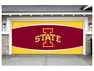 Iowa State Cyclones Victory Corps 7x16 Double Garage Door Decor