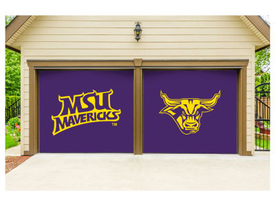 Minnesota State Mavericks Victory Corps 7x8 Split Garage Door Decor