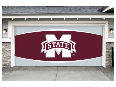 Mississippi State Bulldogs Victory Corps 7x16 Double Garage Door Decor