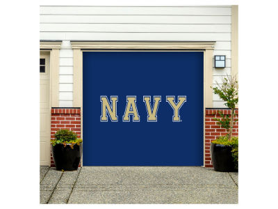 Navy Midshipmen Victory Corps 7x8 Single Garage Door Decor