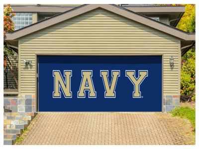 Navy Midshipmen Victory Corps 7x16 Double Garage Door Decor
