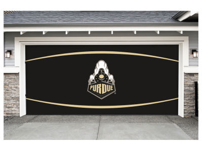 Purdue Boilermakers Victory Corps 7x16 Double Garage Door Decor