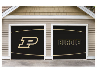 Purdue Boilermakers Victory Corps 7x8 Split Garage Door Decor