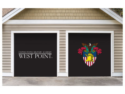 Victory Corps 7x8 Split Garage Door Decor