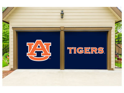 Auburn Tigers Victory Corps 7x8 Split Garage Door Decor