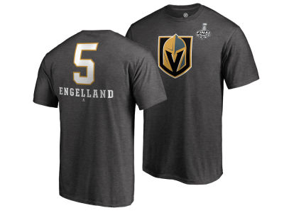 Vegas Golden Knights Deryk Engelland 2018 NHL Men's Stanley Cup Finals Player T-Shirt