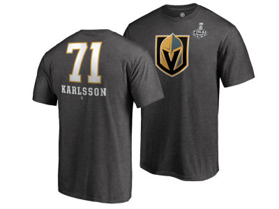 Vegas Golden Knights William Karlsson 2018 NHL Men's Stanley Cup Finals Player T-Shirt