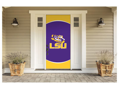 "LSU Tigers Victory Corps 36"" x 80"" Front Door Decor"