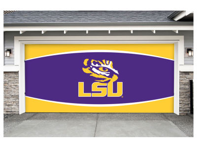 LSU Tigers Victory Corps 7x16 Double Garage Door Decor