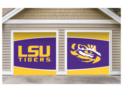 LSU Tigers Victory Corps 7x8 Split Garage Door Decor