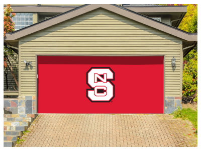 North Carolina State Wolfpack Victory Corps 7x16 Double Garage Door Decor