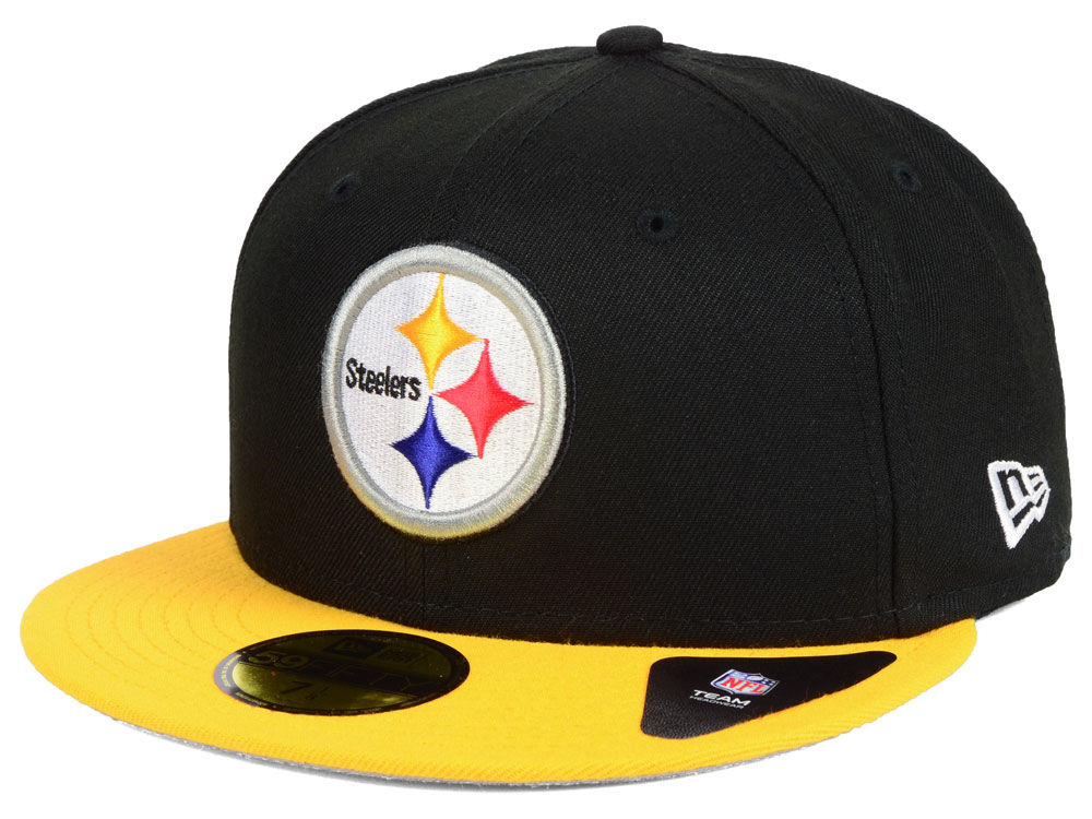 Pittsburgh Steelers New Era NFL Team Basic 59FIFTY Cap  85cbdf5dee15