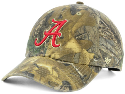 Alabama Crimson Tide '47 NCAA Real Tree CLEAN UP Cap