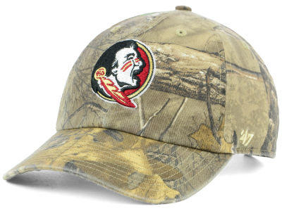 Florida State Seminoles '47 NCAA Real Tree CLEAN UP Cap