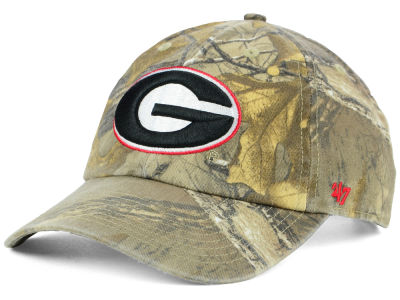 Georgia Bulldogs '47 NCAA Real Tree CLEAN UP Cap