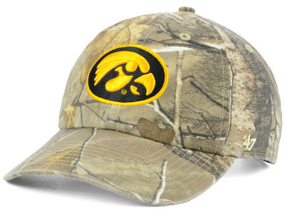 Iowa Hawkeyes '47 NCAA Real Tree CLEAN UP Cap
