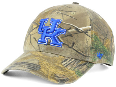 Kentucky Wildcats '47 NCAA Real Tree CLEAN UP Cap