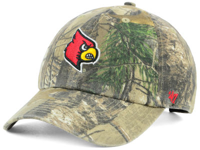 Louisville Cardinals '47 NCAA Real Tree CLEAN UP Cap