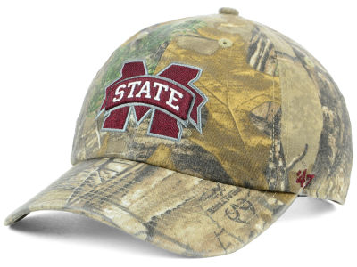Mississippi State Bulldogs '47 NCAA Real Tree CLEAN UP Cap