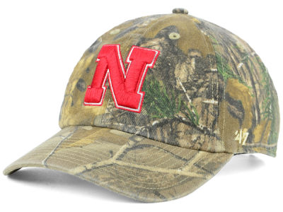 Nebraska Cornhuskers '47 NCAA Real Tree CLEAN UP Cap