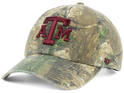 Texas A&M Aggies '47 NCAA Real Tree CLEAN UP Cap
