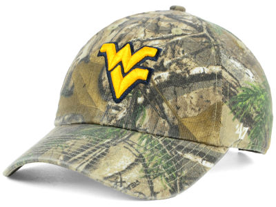 West Virginia Mountaineers '47 NCAA Real Tree CLEAN UP Cap