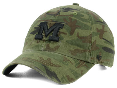 Michigan Wolverines '47 NCAA Regiment CLEAN UP Cap