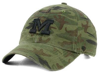 best loved e3471 780dd Michigan Wolverines  47 NCAA Regiment CLEAN UP Cap