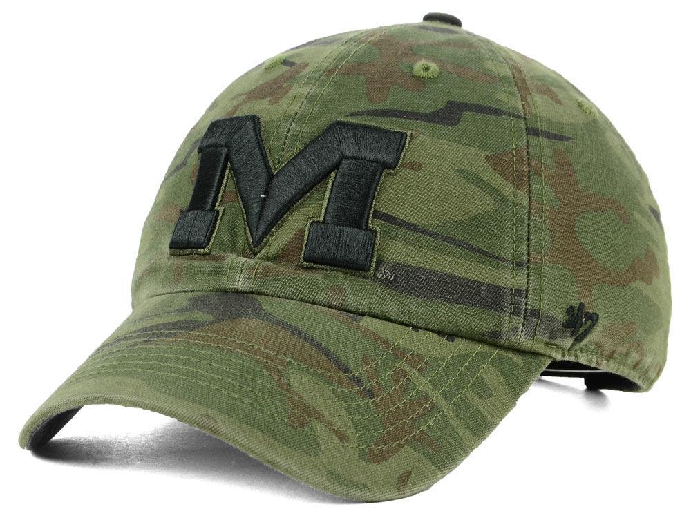 de4e96b91f4 Ole Miss Rebels  47 NCAA Regiment CLEAN UP Cap
