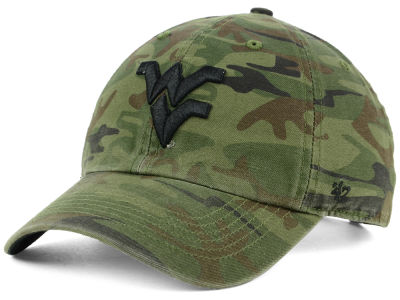 West Virginia Mountaineers '47 NCAA Regiment CLEAN UP Cap